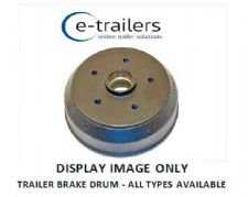 TRAILER BRAKE DRUM 4 STUD 5 STUD ALL PCD SIZES AVAILABLE - WE WILL TRY TO HELP !